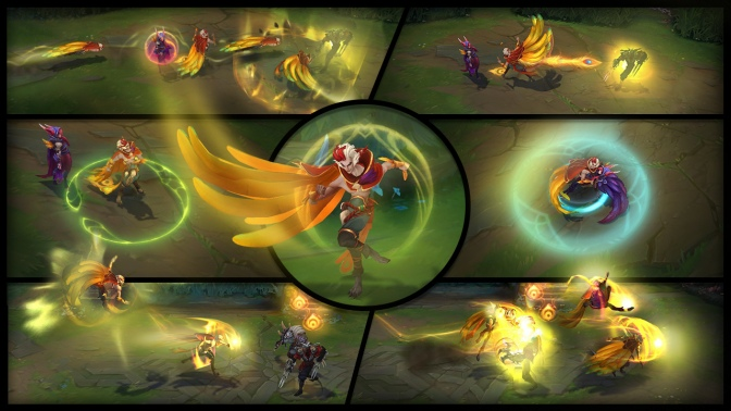 Rakan, league of legends