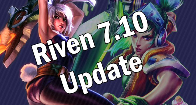 Riven 7.10 Updates: Embracing Her Animation Cancelling