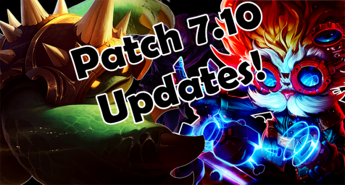 7.10 Updates: Malzahar changes and Other Stuff!